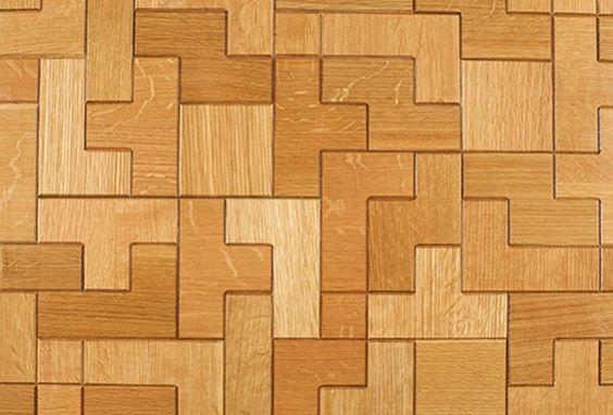 tetris floor 1 e1376124461243 the tetris floor traditional parquet flooring with a twist floor me pinterest traditional planked walls and wall ideas - Tetris Planken