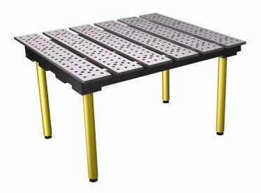 Strong hand weld tables
