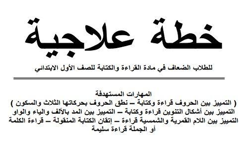 خطة علاجية للطلاب الضعاف في القراءة والكتابة نتعلم ببساطة Calligraphy Arabic Calligraphy
