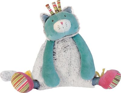 Doudou Chat Musical Les Pachats - Moulin Roty