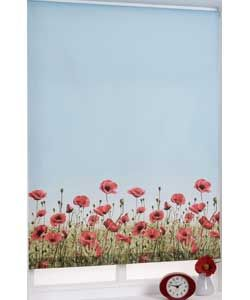Perfect ft Poppy Meadow Roller Blind Multicoloured Argos