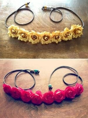 How to Make Flower Crowns by kimeyly