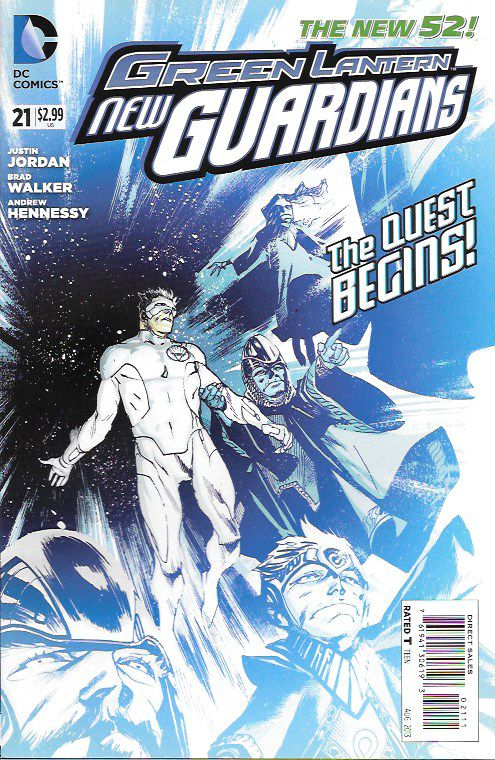 Green Lantern: New Guardians # 21 DC Comics The New 52!
