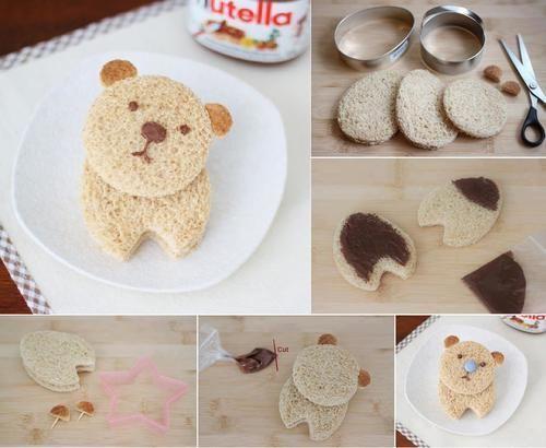 Süßer und Leckerer Nutella Bär <3 // Sweet & tasty nutella bear. <3