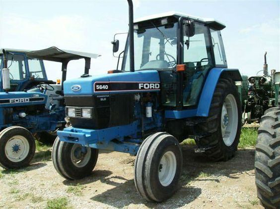 Ford 5640 Tractor Parts : Ford new holland used recondition farm tractors