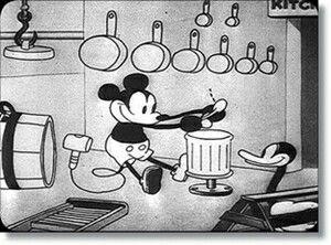 Steamboat Mickey Cartoon 1928