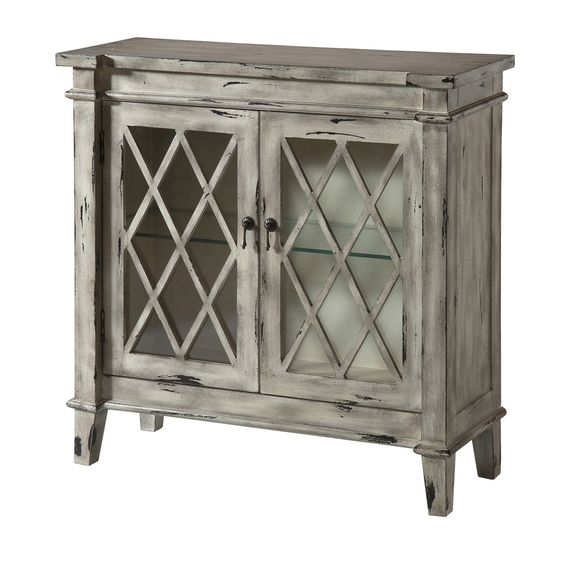 Best Kate Glass Door Accent Cabinet Sofa End Tables Products 640 x 480
