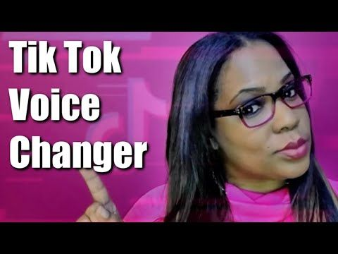 How To Use Voice Changer On Tiktok Youtube In 2020 With Images