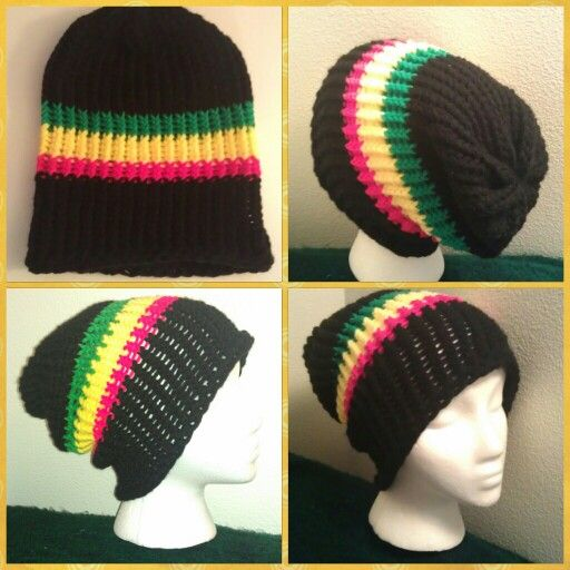 Knitting Pattern For Rasta Hat : Colors, Rasta colors and Hats on Pinterest