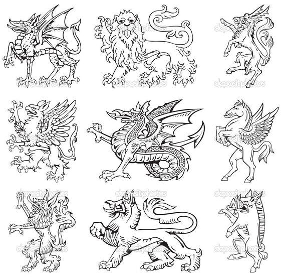 medieval maps sea monsters - Cerca con Google