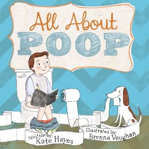 """Have you ever wondered all about poop? Why our bodies make such stinky goop? And where does it go after we wipe when the poop is flushed into a pipe?"""" So begins the adventure of an inquisitive little boy and his charming dog as they discover how poop is formed and where it ends up. With humorous rhymes, children learn about the digestive system, septic tanks, sewage plants and even proper bathroom etiquette."""