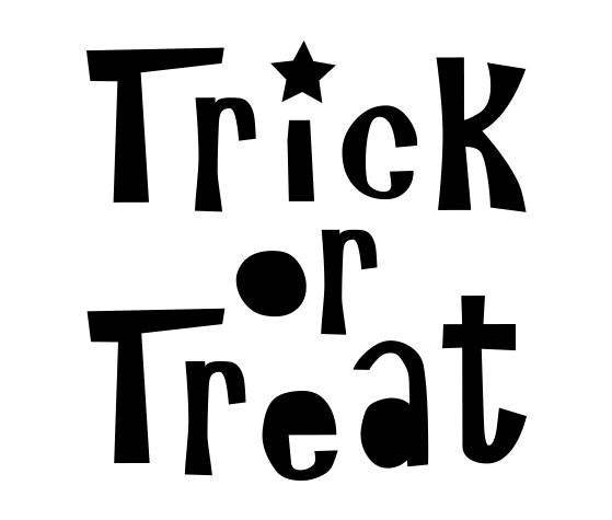 Download this Treat or Treat Carving Stencil and other free printables from  MyScrapNook.com