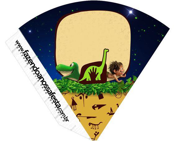 Cone Guloseimas O Bom Dinossauro