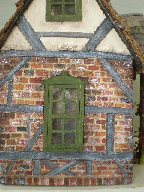 Cinderella Moments: Frog's Cottage Custom Dollhouse