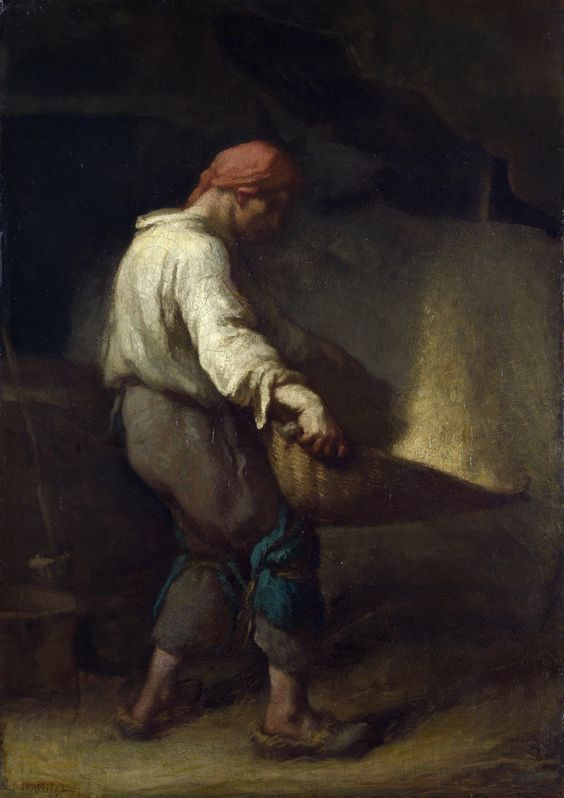 32. millet,  the winnower
