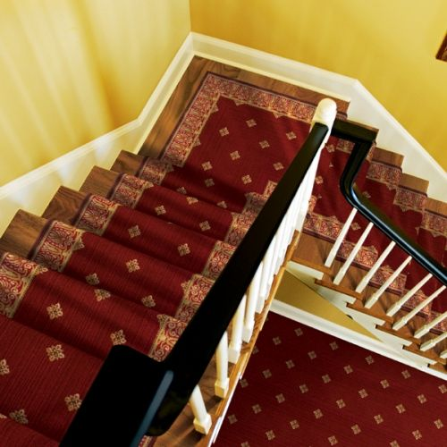 Best Stanton Carpet Harry Color Redstone Stair Runner Stair 400 x 300