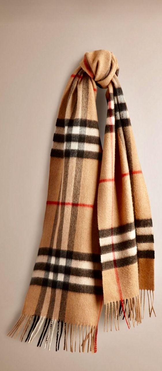 Italist Burberry Beige Wool Scarf Adorewe Com