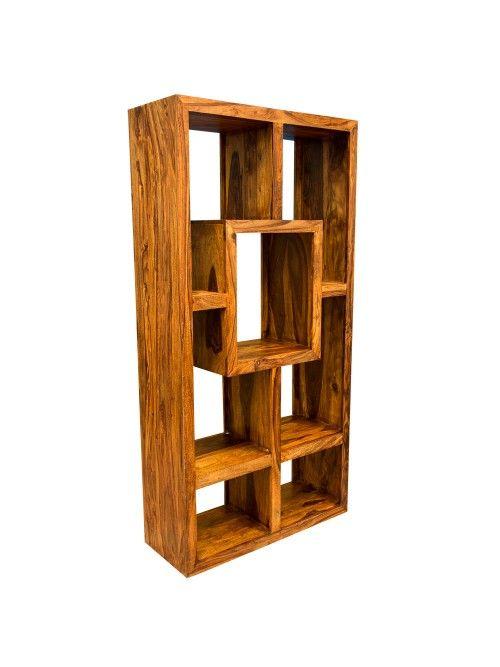 Gaya Cube Sheesham Display Unit Bookcase Sheesham Furniture Sheesham Wood Furniture Hardwood Furniture