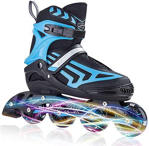 Enjoy Exclusive For Iturnglow Adjustable Inline Skates Kids Adults