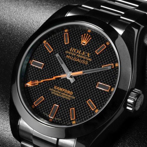 Rolex Milgauss SE 'Stealth' GV Orange
