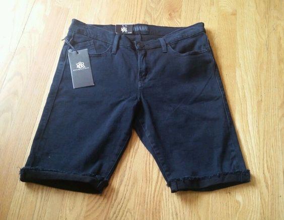 Rock and Republic Womens Denim shorts size 12 Misses New Original ...