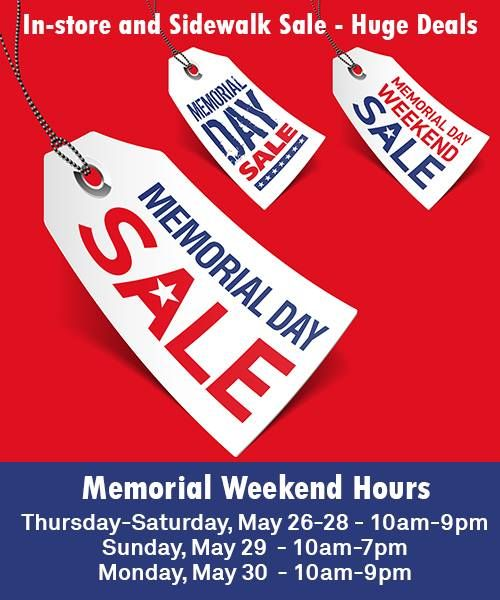 outlet orlando memorial day