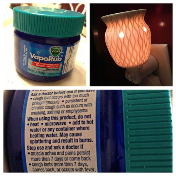 I know it's going around, but never, ever put Vick's VapoRub in a Scentsy Warmer! Add essential oils to your humidifier instead. There are chemicals in Vicks that you should not breathe in. You can also cause injuries & you WILL void your Scentsy Lifetime Warranty! #scentsy #pinterestfail