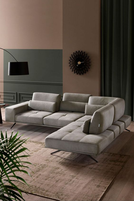 Franco Ferri Italia Vanoni Sectional Sofa Couch Design Italian Furniture Modern Sofa Design