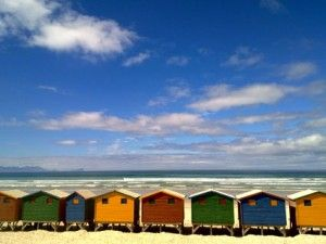 mobile phone | zaphoto, muizenberg, south africa, beach huts, nokia, n97, photography