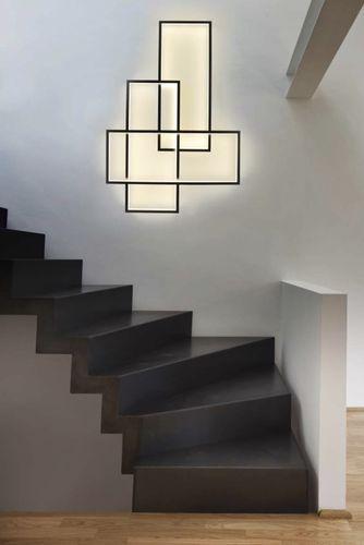 Applique murale design original / en acier / à LED TRIO LT by Johanne Cinier CINIER