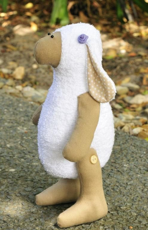 (9) Name: 'Sewing : Dolly the Sheep soft toy sewing pattern
