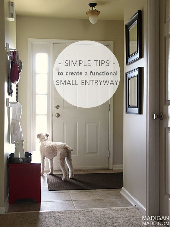 6 simple (and stylish) tips and updates anyone can do to create a functional foyer