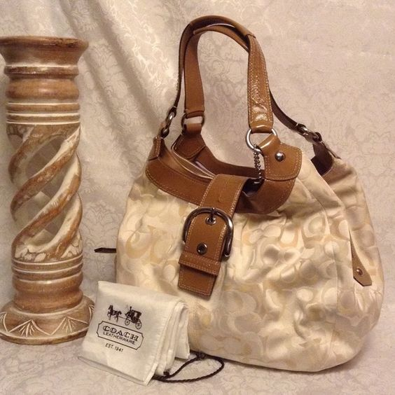 coach wallets for women outlet azgf  cream coach purse