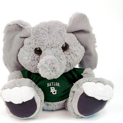 """Baylor University 10"""" Elephant Plush Toy"""
