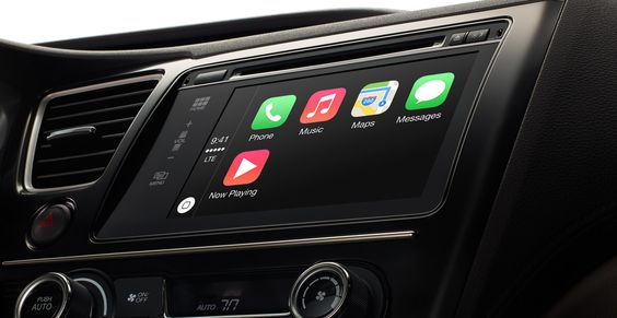 NEED: Apple CarPlay which connects your iPhone to your car in genius ways.