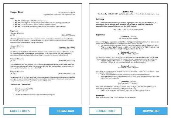 Pin On Google Resume Templates Microsoft Word