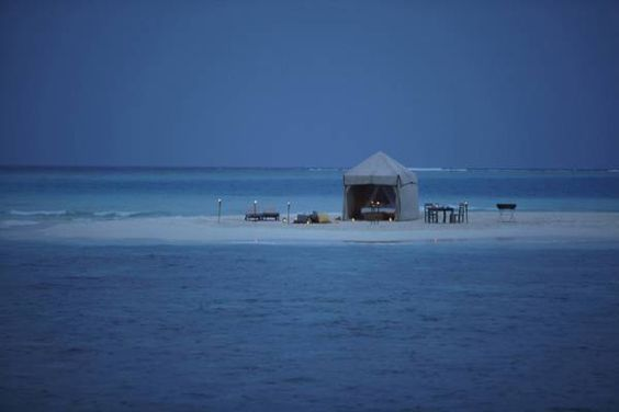$ 448/Night #Soneva Fushi offers private #oceanfront #villas. Kunfunadhoo Island,  in #Baa #Atoll, #Maldives http://VIPsAccess.com/luxury-hotels-maldives.html
