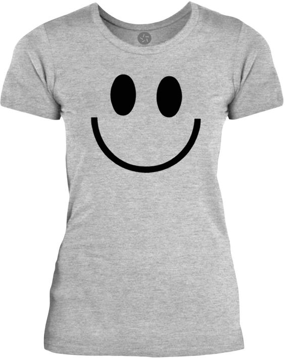 Big Texas This is not a Smiley Face (Black) Womens Fine Jersey T-Shirt