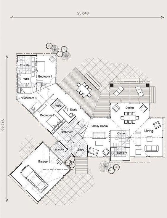 North facing house plans nz google search planos de for North facing floor plans
