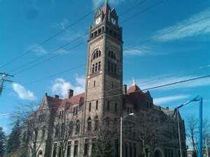 Bay City city hall, Bay City, Michigan (photo by Steve Carmody ...