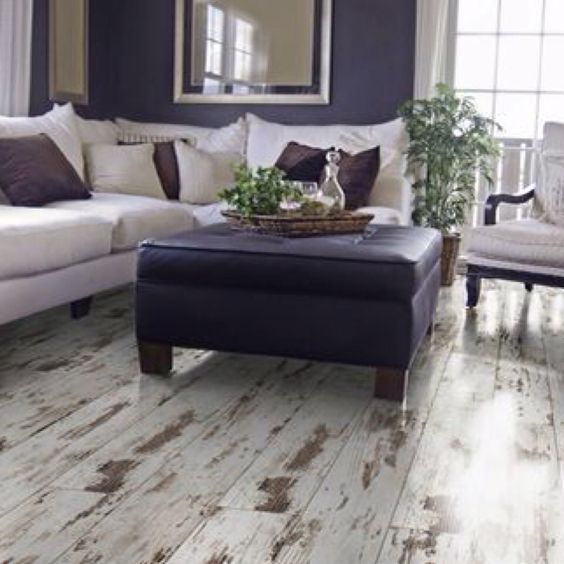 Whitewash floors love for our office parquet floors for Main floor flooring ideas