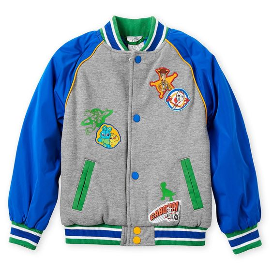 Toy Story 4 Varsity Jacket for Boys - Personalized