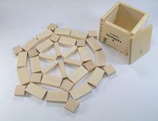 Holzbausteine Froebel Spielgabe 6