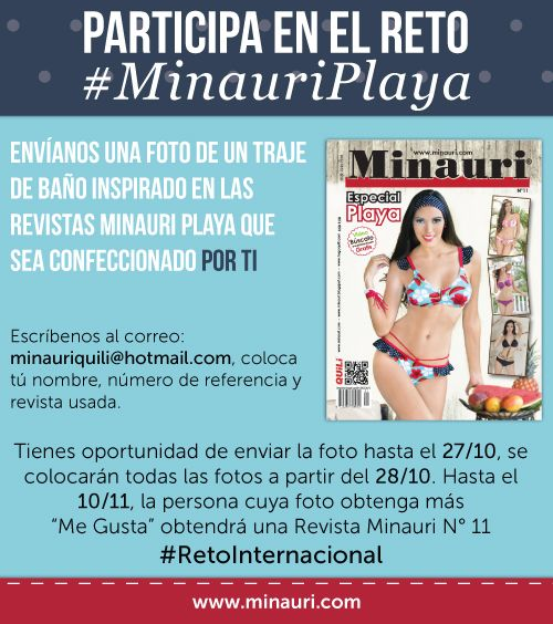 Participa!! https://www.facebook.com/Minauri.Revista