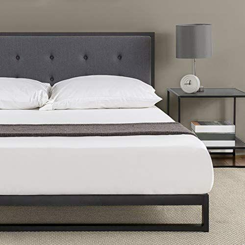 The Zinus Trisha 7 Inch Low Profile Platforma Bed Frame Mattress