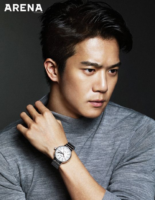 Ha Suk Jin - Arena Homme Plus Magazine September Issue '14: