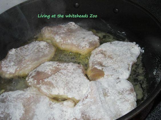 Paula Deen smothered pork chops recipe