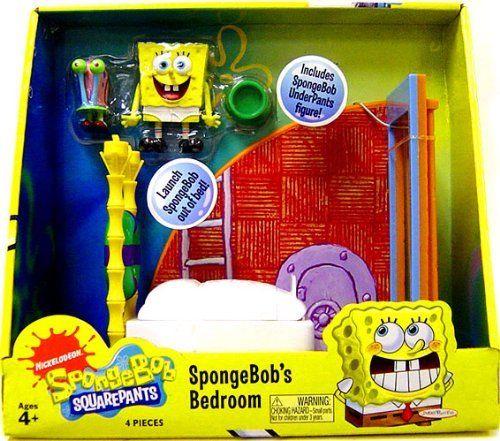 spongebob squarepants bedroom play set by play along 59