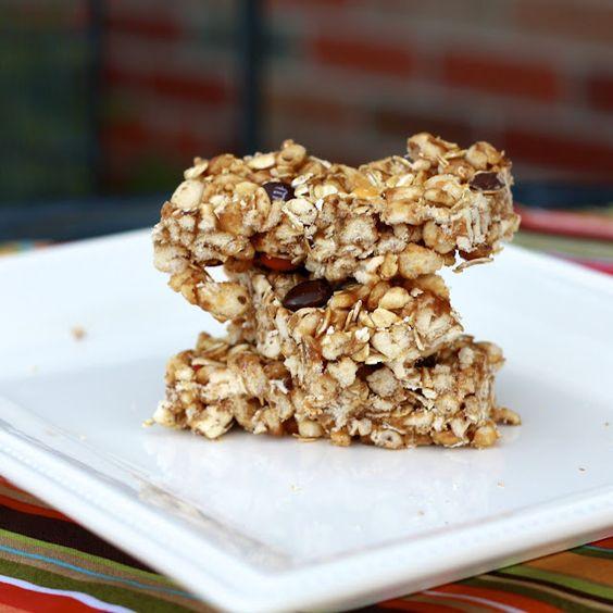 biscoff granola bars (no-bake)