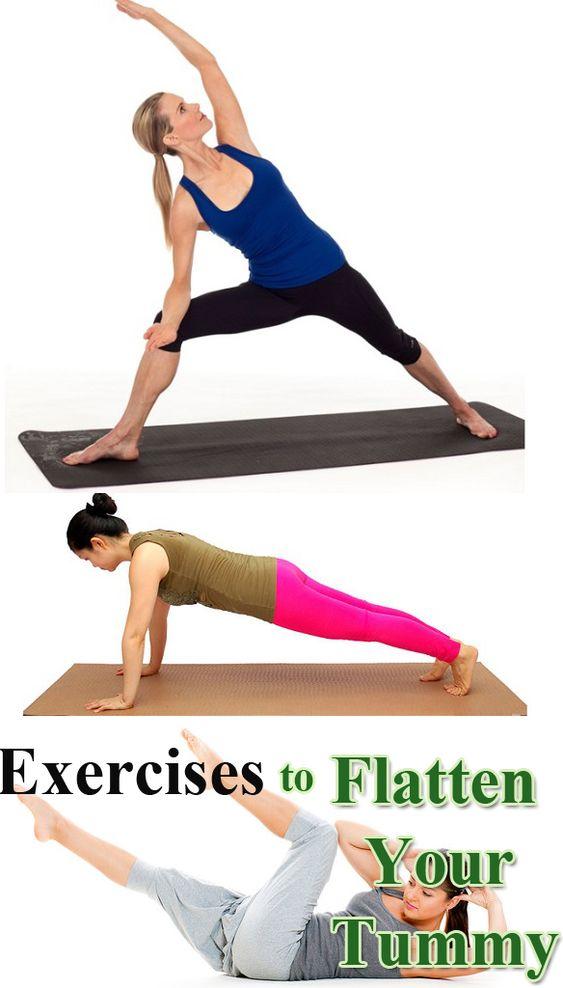Exercises to Flatten Your Tummy.